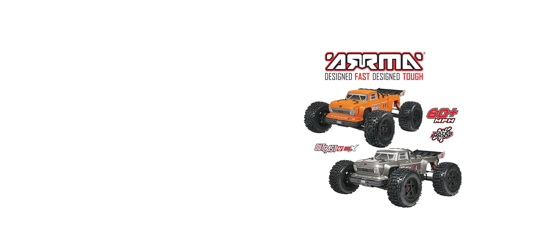 Outcast 6S Stunt Truck 1/8 4WD