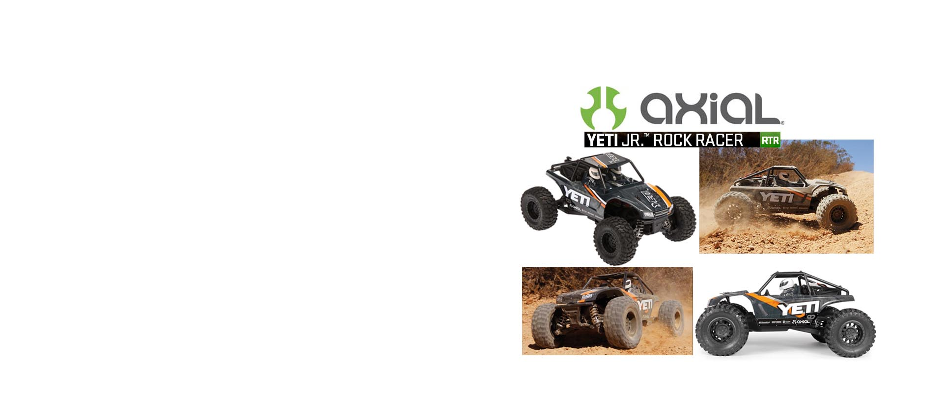 Yeti Jr 1/18 Scale Electric 4WD RTR