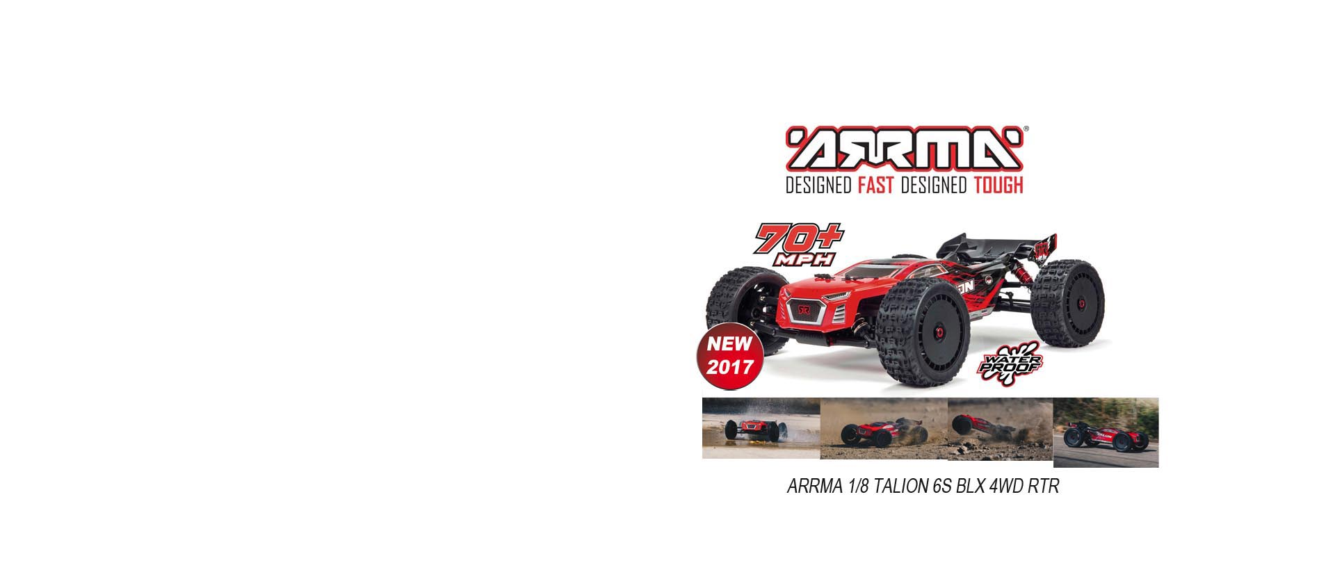 ARRMA 1/8 TALION 6S BLX Brushless 4WD RTR